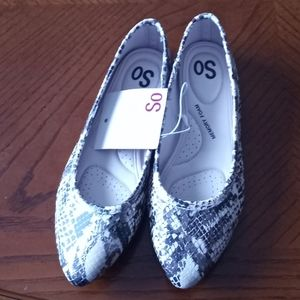 SO Snakeskin Style Shoes